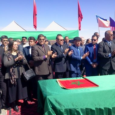 الرشيدية:والي جهة درعة تافيلالت يشرف على اعطاء الانطلاقة لعدد من المشاريع التنموية بالاقليم