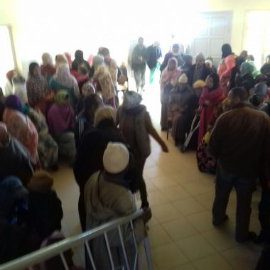 الريش:المركز المغربي لحقوق الانسان ينظم قافلة طبية
