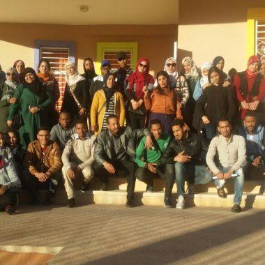 الرشيدية:جمعية ملتقى شباب الغد للتنمية بالرشيدية تنظم زيارة تفقدية خيرية للأطفال المتخلى عنهم