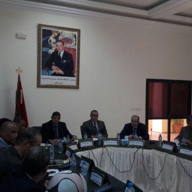 الرشيدية:برنامج التنمية للاقليم اولوية الدورة الاستثنائية للمجلس الإقليمي