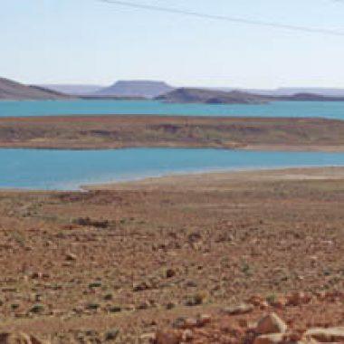 عاجل:العثور على جثة قديمة بجوار بحيرة سد الحسن الداخل