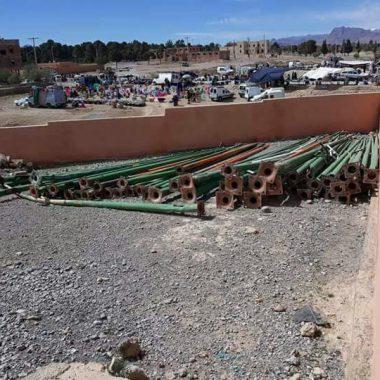 الريش:جزارو المدينة مضربون والمركز المغربي لحقوق الإنسان فرع الريش يدخل على الخط