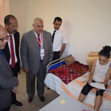 مديرية الرشيدية: إحداث مركز امتحان بمستشفى مولاي علي الشريف لتمكين تلميذتين من اجتياز امتحان شهادة الدروس الابتدائية