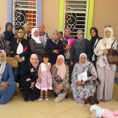 جمعية نساء تعليم درعة تافيلالت تنظم نشاطا تضامنيا مع دار الطفل
