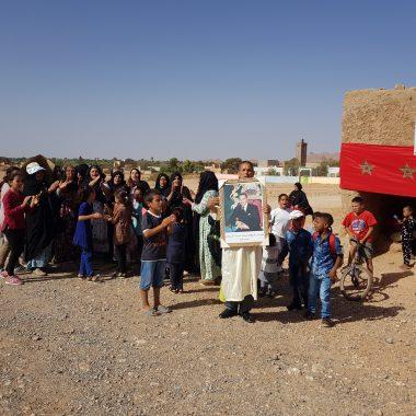 عاجل:ساكنة بلاغمة تنفذ احتجاجا مطالبة باطر التدريس