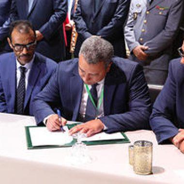 أرفود:التوقيع على اتفاقية شراكة تهم تنقية جريد النخيل وخلق مناصب للشغل بالواحات