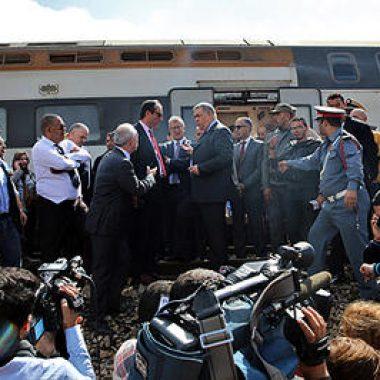 حادث القطار:جلالة الملك يتدخل والمكتب الوطني للسكك الحديدية يلزم الصمت