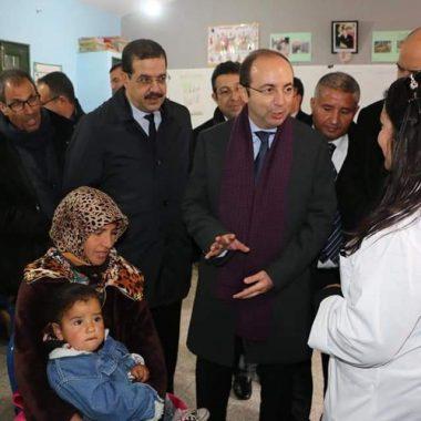 """اقليم ايفران: انس الدكالي يعطي الانطلاقة الميدانية لعملية """"رعاية 2018-2019"""""""