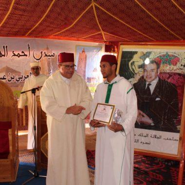 والي جهة درعة تافيلالت يشرف على الإحتفال الديني بموسم سيدي أحمد الهواري