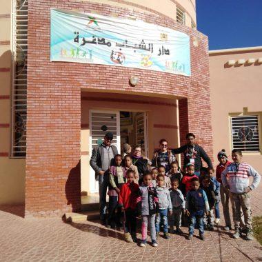 جمعية النجمة المغربية تنظم ورشا دوليا بالرشيدية