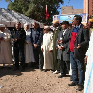 جماعة السفلات تحتفي بذكرى تقديم وثيقة المطالبة بالاستقلال عبر إعطاء الانطلاقة لعدد من المشاريع