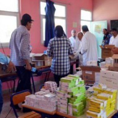 استفادة 1355 شخص من قافلة طبية متعددة التخصصات بجماعة تلوات بإقليم ورزازات
