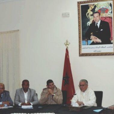 الرشيدية:اجتماع اللجنة الإقليمية للتدبير المندمج لمحاربة نواقل العدوى