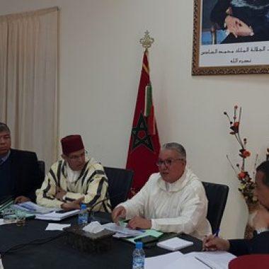 الرشيدية:والي جهة درعة تافيلالت يشرف على اجتماع اللجنة الجهوية للسلامة الطرقية