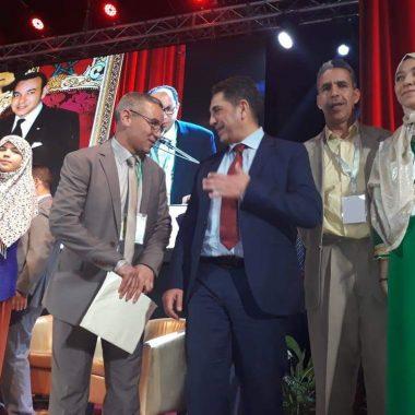 تألق الأكاديمية الجهوية للتربية والتكوين لجهة درعة تافيلالت في التصفيات الوطنية لمسابقة تحدي القراءة العربي
