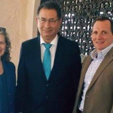 رئيس بلدية الحسيمة  يستقبل  سفير مملكة بريطانية بالمغرب والقائمة بأعمال السفارة الأمريكية بالرباط