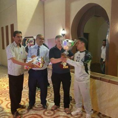 الرشيدية:إسدال الستار عن النسخة الخامسة من دوري الوحدة والتنوع في كرة القدم المصغرة بتتويج فريق جمعية العمالة