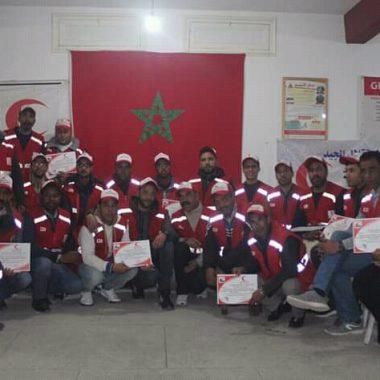 الرشيدية:دورة تكوينية في الإسعافات الأولية من تنظيم الهلال الأحمر المغربي