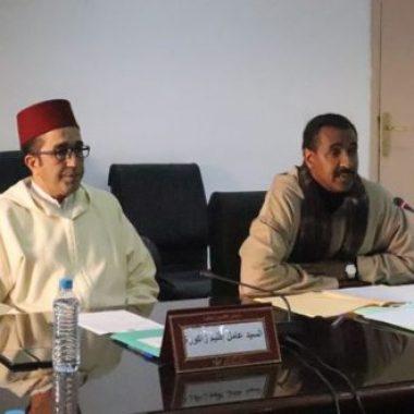 المصادقة بالإجماع على نقط جدول أعمال الدورة الاستثنائية للمجلس الإقليمي لزاكورة