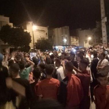 وفاة طفل يخرج مواطنين الى الاحتجاج بتافراوت