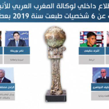 استطلاع لوكالة المغرب العربي للأنباء يكشف عن 6 شخصيات طبعت سنة 2019 بعطاءاتها